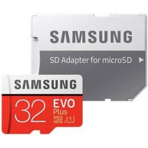 Карта памяти Samsung microSDXC EVO Plus 32Гб