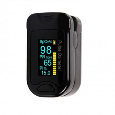 Портативный пульсоксиметр на палец ARSTN OLED M130B, черный, арт. 1057