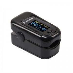 Портативный Bluetooth пульсоксиметр ARSTN OLED M170B черный с чехлом арт. 1061