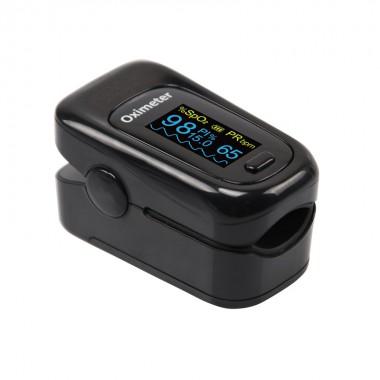 Портативный Bluetooth пульсоксиметр на палец ARSTN OLED M170B, черный, арт. 1061