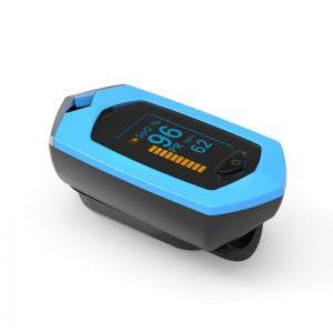 Пульсоксиметр BOXYM oSport с аккумулятором, синий, арт. 1055