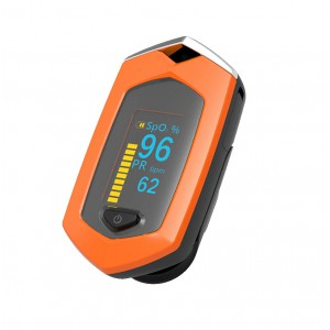 Пульсоксиметр BOXYM oSport с аккумулятором оранжевый, арт. 1072
