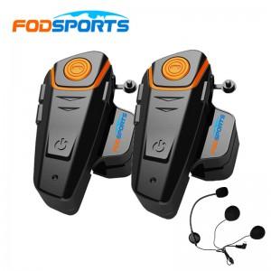 Комплект мотогарнитур для открытого шлема Fodsports BT-S2 Pro арт. 1018