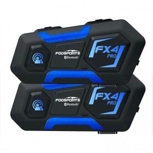 Комплект из двух мотогарнитур Fodsports FX4 Pro, арт. 1345