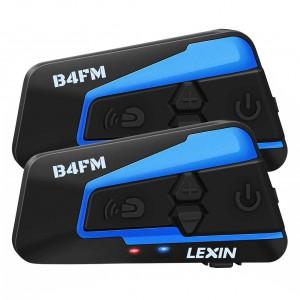 Комплект из двух мотогарнитур LEXIN LX-B4FM, арт. 1333
