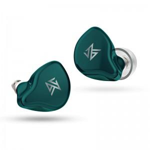 Полностью беспроводные гибридные наушники KZ S1 Bluetooth 5.0 зеленые, арт. 1097