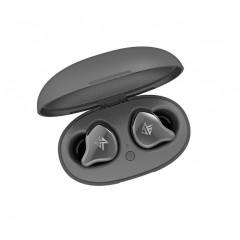 Полностью беспроводные гибридные наушники KZ S1 Bluetooth 5.0 серые, арт. 985