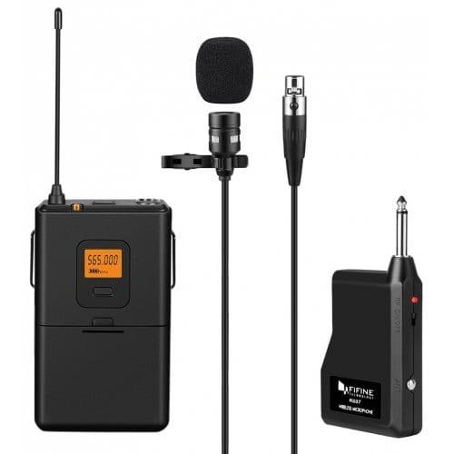 Купить беспроводной петличный микрофон FIFINE K037 в интернет-магазине электроники TM8.RU, Москва, Россия