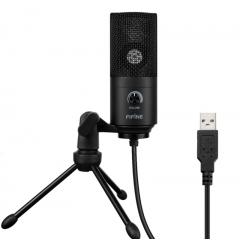 Конденсаторный студийный микрофон FIFINE K669 черный, арт. 1121