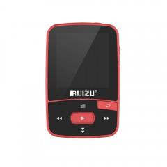 Спортивный HiFi плеер Ruizu X50 8Гб красный, арт. 1364