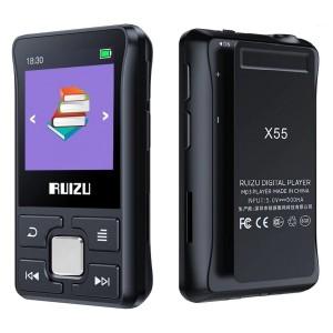Спортивный HiFi плеер RUIZU X55 с клипсой, 8Гб, Bluetooth, арт. 1398