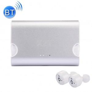 Полностью беспроводные bluetooth-наушники TWS X2T с микрофоном белые, арт. 634
