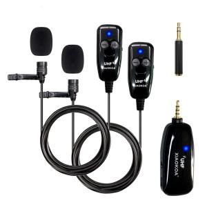 Комплект из двух микрофонов XIAOKOA N81-UHF