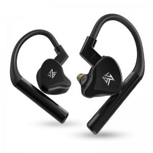 5-драйверные гибридные наушники KZ E10 Bluetooth 5.0 черные, арт. 951